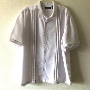 Cubavera White Short Sleeve Shirt